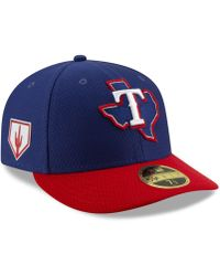 best website 3986b e2408 KTZ - Texas Rangers Spring Training 59fifty-fitted Low Profile Cap - Lyst