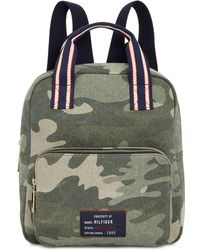 Tommy Hilfiger - Bowers Camo Canvas Backpack, Created For Macy's - Lyst
