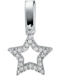 Michael Kors - Custom Kors Pavé Sterling Silver Star Charm - Lyst