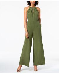 Donna Ricco - Sleeveless Hardware-embellished Jumpsuit - Lyst