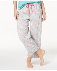 Charter Club - Soft Cotton Printed Pajama Pants, Created For Macy's - Lyst