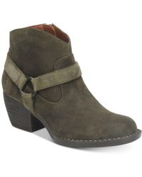 Born - Carmel Harness Booties, Created For Macy's - Lyst