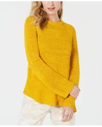 Style & Co. Mixed-stitch Crew-neck Jumper, Created For Macy's