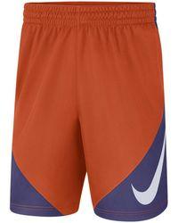 2cda2361cd8 Lyst - Nike Men s Lsu Tigers Fly Xl Shorts in Purple for Men