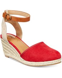 Style & Co.   Mailena Wedge Espadrille Sandals, Created For Macy's   Lyst