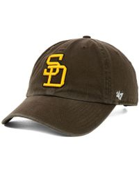 b192207ae7e76 Lyst - 47 Brand San Diego Padres Gemstone Clean Up Cap in Blue for Men