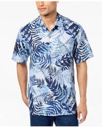 Tommy Bahama - Men's Glade Tropics Botanical-print Silk Shirt - Lyst