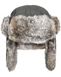 Woolrich - Supplex Faux-fur Trooper - Lyst