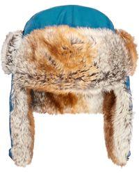 Woolrich - Supplex Faux-fur Trooper - Lyst