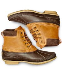 Tommy Hilfiger - Men's Casey Waterproof Duck Boots, Only At Macy's - Lyst