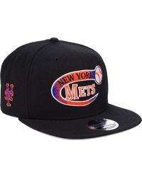 best service 326a6 71821 KTZ New York Mets Dark Tropic 9fifty Snapback Cap for Men - Lyst