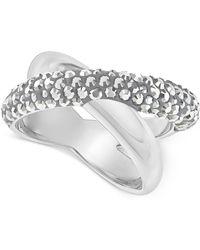 Swarovski - Crystaldust Crisscross Ring - Lyst