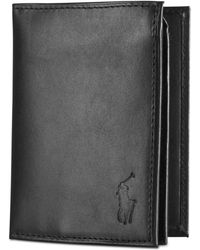 Polo Ralph Lauren - Wallet, Burnished Billfold Wallet With Window - Lyst
