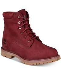 Timberland - Waterville Waterproof Boots, Created For Macy's - Lyst