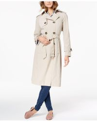 London Fog - Double-breasted Trench Coat - Lyst