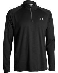 Under Armour | Long Sleeve Quarter-zip Pullover | Lyst
