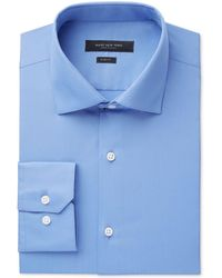 Marc New York - Men's Slim-fit Wrinkle-free Solid Dress Shirt - Lyst