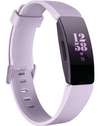 Fitbit - Inspire Hr Lilac Strap Activity Tracker 16.4mm - Lyst