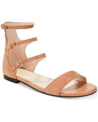 Cole Haan - Cielo Strappy Flat Sandals - Lyst