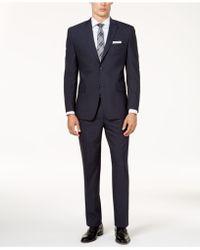 Marc New York - Men's Classic-fit Windowpane Stretch Suit - Lyst
