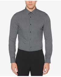 Perry Ellis - Slim-fit Stretch Shirt - Lyst