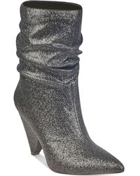 Guess - Nakitta Slouchy Cone-heel Booties - Lyst