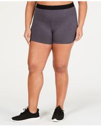 55a9dd67f0 Calvin Klein Performance Plus Size Training Shorts - Lyst