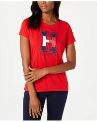 Tommy Hilfiger - Sport Short-sleeve Logo T-shirt - Lyst