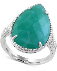 Effy Collection - Amazonite Drama Ring (5-3/4 Ct. T.w.) In Sterling Silver - Lyst