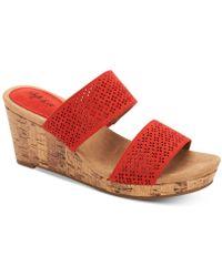Style & Co. - Jacelin Wedge Sandals, Created For Macys - Lyst