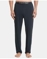 Calvin Klein - Men s Ultra-soft Modal Pajama Pants - Lyst 7be59fee8