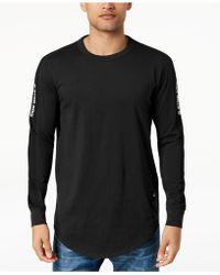 G-Star RAW - Swando Stripe Logo Long Sleeve T-shirt, Created For Macy's - Lyst