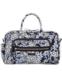 Vera Bradley - Iconic Compact Extra-large Weekender Travel Bag - Lyst