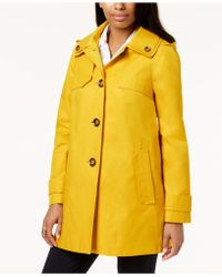 London Fog - Plus Size A-line Raincoat - Lyst