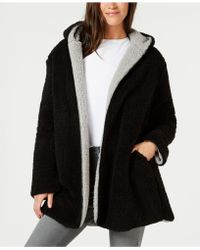 Style & Co. - Reversible Faux-sherpa Jacket, Created For Macy's - Lyst