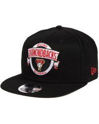 KTZ - Arizona Diamondbacks Banner 9fifty Snapback Cap - Lyst