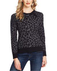 Cece - Printed Leopard Sweater - Lyst