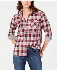 fc96891e32790 Tommy Hilfiger - Plus Size Plaid Button-front Shirt