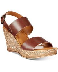 Bella Vita - Cor-italy Wedge Sandals - Lyst