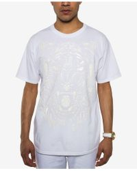 Sean John - White Party Tiger Roar Embossed T-shirt, Created For Macy's - Lyst