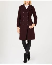 Kenneth Cole - Double-breasted Peacoat - Lyst