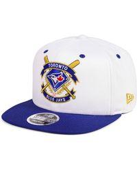 1d344838ebb Lyst - Ktz Toronto Blue Jays Logo Refresh 9fifty Snapback Cap in ...