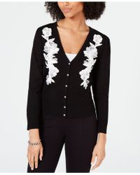 INC International Concepts - I.n.c. Lace-trim Cardigan, Created For Macy's - Lyst