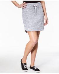 Style & Co. - Petite Melange Knit Skort - Lyst