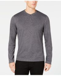 Alfani Henley, Created For Macy's - Gray
