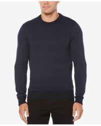 Perry Ellis - Herringbone Sweater - Lyst