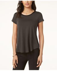 Alfani - High-low T-shirt, Only At Macy's - Lyst
