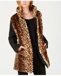 Maison Jules - Faux-fur Reversible Jacket, Created For Macy's - Lyst
