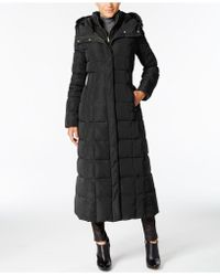 Cole Haan - Hooded Down Maxi Puffer Coat - Lyst