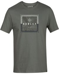 Hurley - Be Fronds Graphic T-shirt - Lyst